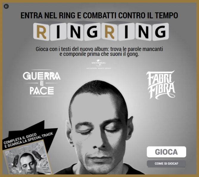 App Game fabri Fibra Ring Ring