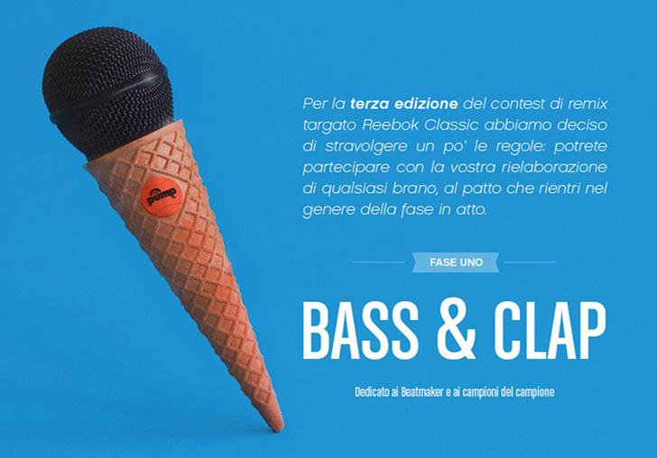 Evento Remix: Bass & Clap, terza edizione