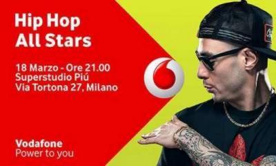 Vodafone Unlimited presenta Hip Hop All Stars, il meglio della scena Rap Italiana